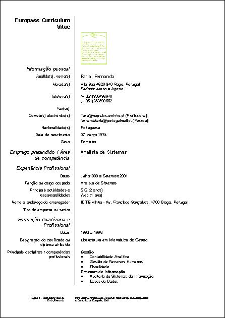 eurocv pdf 1